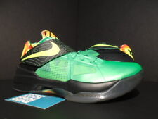 NIKE ZOOM KEVIN DURANT KD IV 4 WEATHERMAN LUSH GREEN BLACK ORANGE 473679-303 8