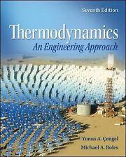Thermodynamics : An Engineering Approach by Michael Boles and Yunus Cengel...