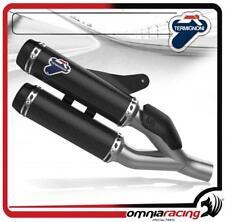 Termignoni D146 Terminale Scarico Slip-On Carbonio Racing Ducati Monster 821 14>