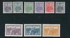 ARGENTINA 1930 REVOLUTION of 1930 (Scott 374-390 upto 10pesos) VF MLH