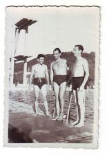 Semi nude men gay interest, vintage photo 1940`s, 56