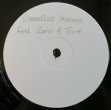 "DREADLOX HOLMES feat ZANE & TRINE ~ Untitled ~ 12"" Single WHITE LABEL"