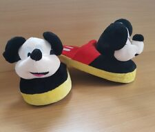 DISNEY MICKEY MOUSE STOMPEEZ CHILDRENS SLIPPERS AGED 3 - 5 JUMP WALK STOMP