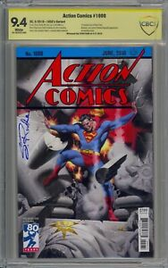 ACTION COMICS #1000 1930S VAR SIGNED BY STEVE RUDE 9.4
