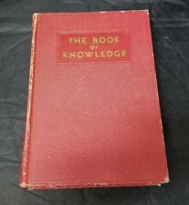 The Book of Knowledge Volume 19&20 Children's Encyclopedia Grolier Society 1945