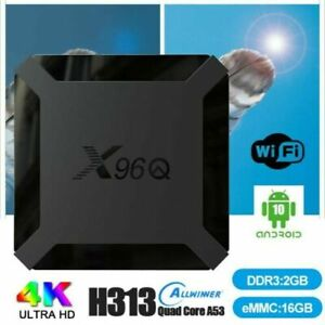 X96 Q Mini Boitier Android Box TV 2GB/16GB SMART TV 4K Ultra HD WiFi -IP&TV-