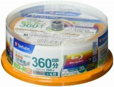 20 Verbatim Blu ray BD-R DL 50gb 4x Dual Layer Bluray Genuine Pack Printable