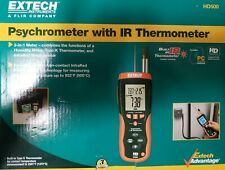 Extech Hd500 Relative Humidity Meterwithir Thermometer
