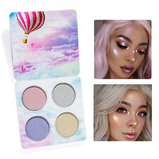New Eyeshadow Palette 4 Colours Highlight Eyeshadow Waterproof Long Lasting Eye