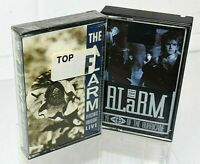 Lot The Alarm  Eye Of Hurricane (Used) Cassette & Electric Folklore Live Sealed