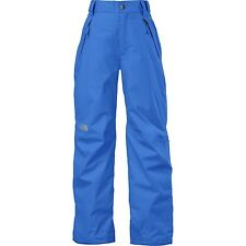 The North Face Freedom Insulated Kids Ski Pants BLUE MEDIUM 10/12