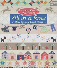 Moda All-Stars: All in a Row: 24 Row-by-Row Quil, Lissa Alexander, New