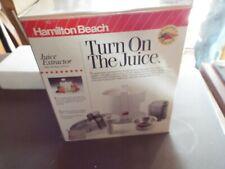 Hamilton beach juice extractor - Never used