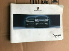 Porsche Cayenne 955 Drivers Manual Owners Manual