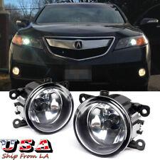 Passenger Driver Fog Light For 2011-15 Acura TSX RDX TL ILX Honda CR-V Pilot