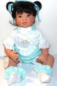 Lee Middelton Vinyl Doll REVA SCHICK ORIENTAL PAMPERS KID DOLL