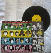ROLLING STONES - SOME GIRLS + INSERTO - ANNO 1978 - Stampa italiana - traforata