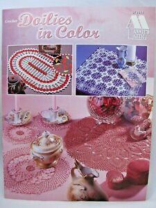 Doilies in Color Crochet Pattern Leaflet Annie's Attic 879814 9 Lace Designs