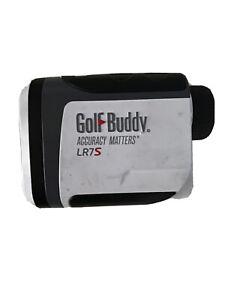 GolfBuddy GB10-LR7S Small Golf Laser Rangefinder Slope - White/Black