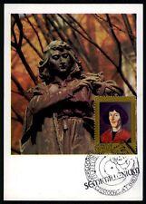 POLEN MK 1973 KOPERNIKUS COPERNICUS COPERNIC CARTE MAXIMUM CARD MC CM h1142