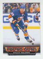 (76152) 2013-14 UPPER DECK BROCK NELSON #204 YOUNG GUNS ROOKIE CARD