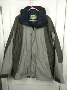 Cabelas Dry Plus 3-in-1 Brown Winter Waterproof Jacket Coat Men's Size: XLT