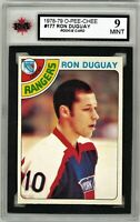 1978-79 O-Pee-Chee #177 Ron Duguay RC Graded 9.0 Mint (062319-72)
