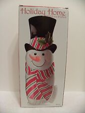 2007 Fitz and Floyd - Snack Therapy Snowman Server Plate or Wall Decoration
