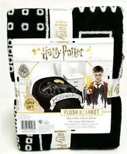 "Harry Potter Hogwarts Moonrise Plush Blanket Throw 60"" X 90"", Black/Multi"