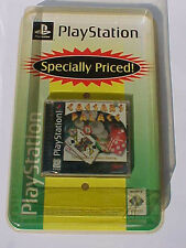 RARE SPECIAL PACKAGING of 1997 PLAYSTATION CAESARS PALACE CASINO GAME SEALED!!