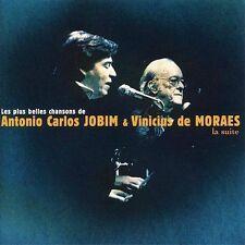 Les Plus Belles Chansons de Antonio Carlos Jobim & Vinicius de Moraes (CD) Best