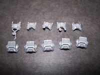 5 Space Marine Grey Knight Terminator bodies bits, 40K Games Workshop