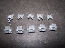 5 Space Marine Grey Knight Terminator corps Bits, 40K Games Workshop