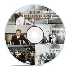 JFK KENNEDY INAUGURATION SPEECH MEDICARE CAMPAIGN, ELECTION FILMS ON DVD -J05