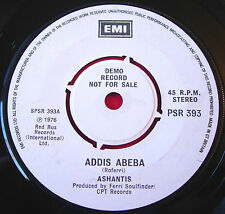 "Ashantis Addis Abeba/We Can+1 7"" DEMO EMI PSR 393 Afrobeat/Afro Disco/Funk VINYL"