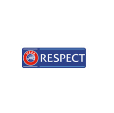 UEFA RESPECT Badge 2017-2018-2019 Lextra Patch Ärmellogo EURO, Champions League