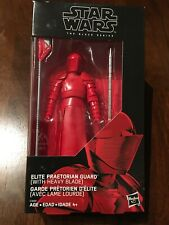 Star Wars The Black Series Elite Praetorian Guard (with Heavy Blade)