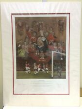 Stephen Doig - Treble Winners - Counter Signed  - Mounted (In Stock)