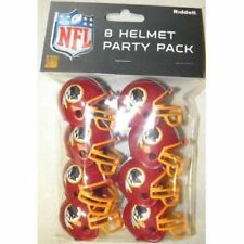 WASHINGTON REDSKINS NFL Riddell Gumball Party Pack Football Helmets (8 count)