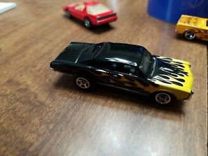2007 Hot Wheels All Stars 1967 Pontiac GTO #137 Black/Yellow