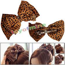 Leopard gioielli coreano arco Tornante accessorio dei capelli