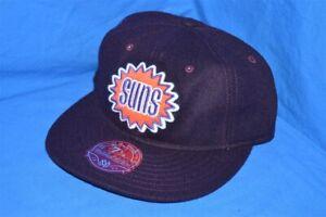 PHOENIX SUNS WOOL LOW PROFILE PURPLE ORANGE MITCHELL & NESS NWT HAT CAP 7 1/8