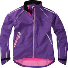 Madison Womens Prima Waterproof Cycling Jacket Ss16 14 Electric Purple