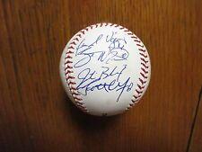 2011 Ogden Raptors  Signed(By 8)Baseball (w/SCOTT WINGO/JOSE DOMINQUEZ/JEFF HUNT