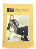 Vintage Simpons Sears Fall And Winter 1970 Large Catalog K645