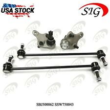 4Pc JPN Front Sway Bar Lower Ball Joint Suspension Kit For Scion xB 2008-2015