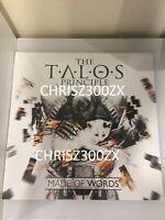 The Talos Principle Deluxe Original Vinyl Record Soundtrack 2 LP Black Gatefold