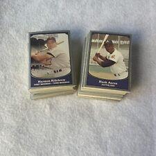 1990 Pacific Baseball Legends Complete 110 Card Baseball Set