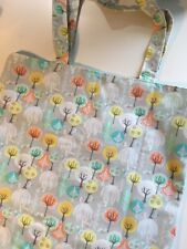 Bag In a Bag Shopper In Grey And Mint Green