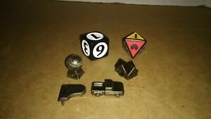 Tokens and Dice From Twilight Board Game